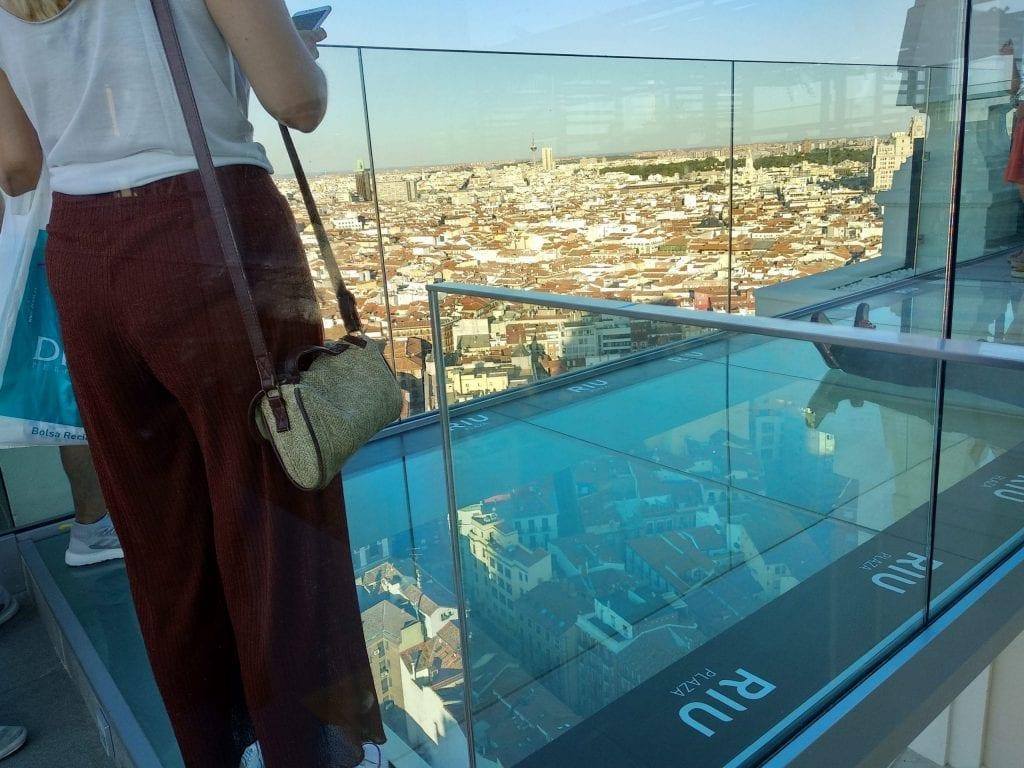 Atardecer Espectacular Desde El Sky Bar Riu Plaza España